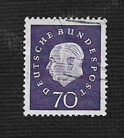 German Used Scott #797 Catalog Value $.65
