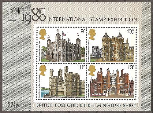 [GB0334] Great Britain: Sc. no. 334a (1978) MNH Miniature Sheet