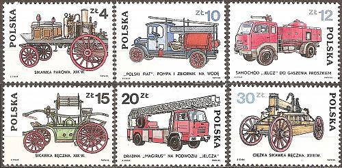 [PO2664] Poland: Sc. no. 2664~2669 (1985) MNH Complete set