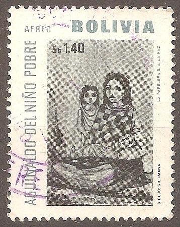[BOC258] Bolivia: Sc. no. C258 (1966) Used