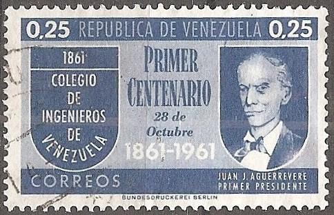 [VZ0801] Venezuela: Sc. no. 801 (1961) Used