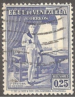 [VZ0353] Venezuela: Sc. no. 353 (1939) Used