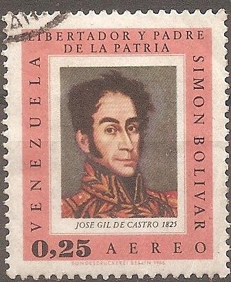 [VZC940] Venezuela: Sc. no. C940 (1966) Used