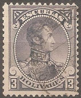 [VZ0084] Venezuela: Sc. no. 84 (1888) Used