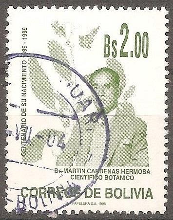 [BL1031] Bolivia: Sc. no. 1031 (1998) Used