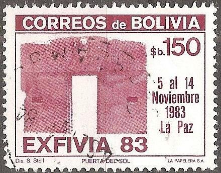[BL0690] Bolivia: Sc. no. 0690 (1983) Used Single