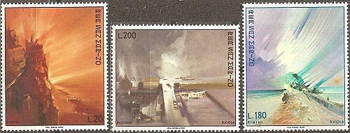 [SM0710] San Marino: Sc. no. 710-712 (1969) MNH Complete Set