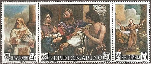 [SM0663] San Marino: Sc. no. 663a (1967) MNH Complete Set