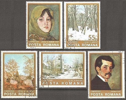 [RO2532] Romania: Sc. no. 2532-2536 (1975) CTO