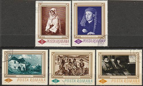 [RO1859] Romania: Sc. no. 1859-1863 (1966) CTO