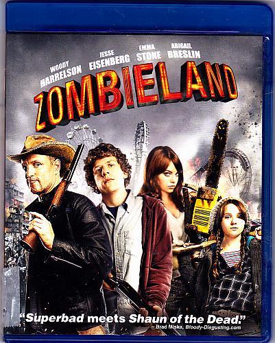Zombieland - Blu-ray Disc, 2010 - Like New