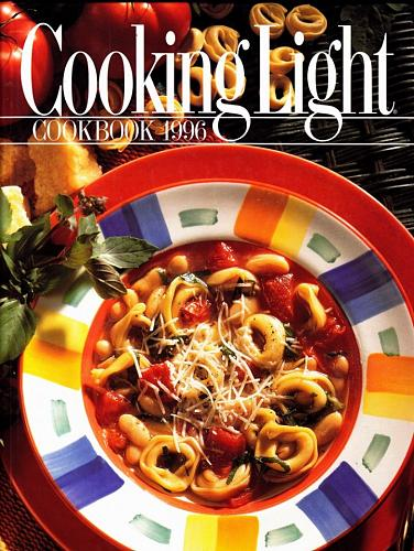 Cooking Light Annual Recipes 1996 Cook Book - Very Good