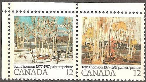 [CA0734] Canada: Sc. no. 734a (1977) MNH Complete Set