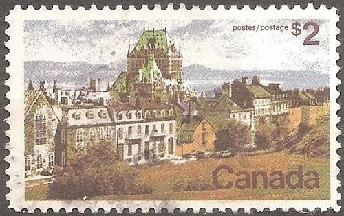 [CA0601] Canada: Sc. no. 601 (1972-1976) Used