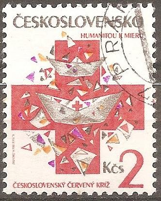 [CZ2861] Czechoslovakia: Sc. no. 2861 (1992) used single