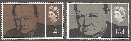 [GB0420] Great Britain: Sc. no. 420-421 (1965) MNH full set
