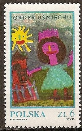 Poland: Sc. no. 2582B (1983) MNH Single
