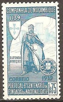 [MZ0201] Mozambique Co.: Sc. no. 201 (1940) MNH Single
