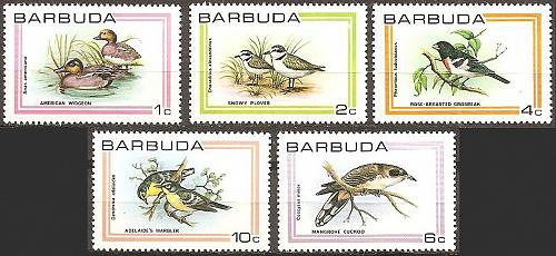 [BU0431] Barbuda: Sc. no. 431-435 (1980) MNH