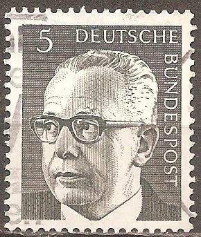 [GE1028] Germany: Sc. No. 1028 (1970) Used