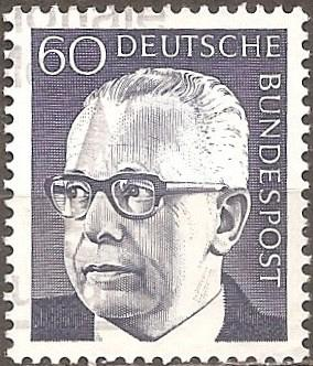 Germany: Sc. No. 1034 (1971) Used