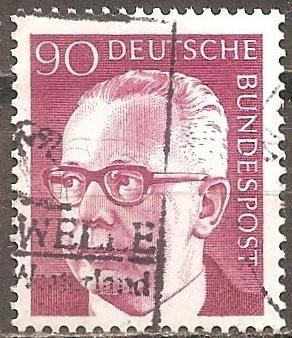 [GE1037] Germany: Sc. No. 1037 (1971) Used