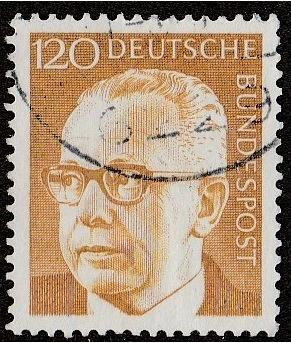 [GE1039] Germany: Sc. No. 1039 (1972) Used