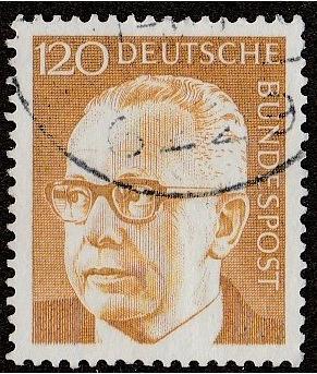 Germany: Sc. No. 1039 (1972) Used