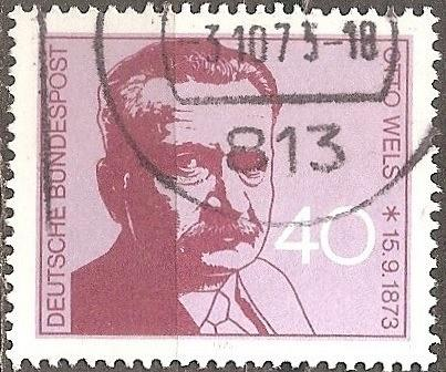 [GE1124] Germany: Sc. No. 1124 (1973) Used Single