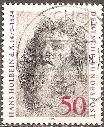 [GE1151] Germany: Sc. No. 1151 (1974) Used Single