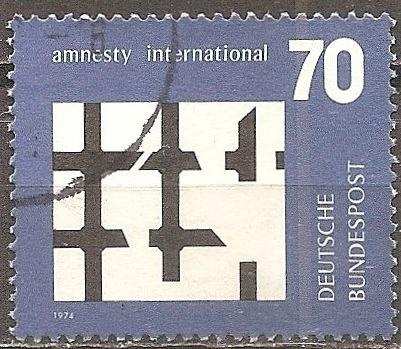 Germany: Sc. No. 1150 (1974) Used Single