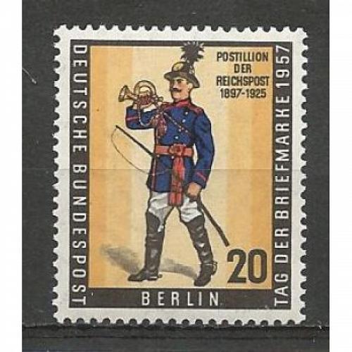 German MNH Scott #9N160 Catalog Value $.85