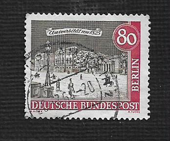 Germany Used Scott #9N205 Catalog Value $.40