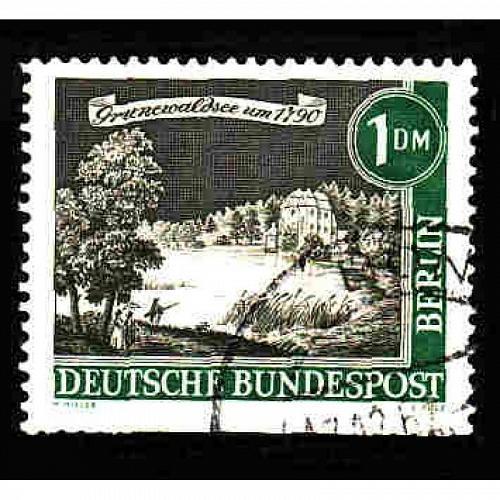 Germany Used Scott #9N207 Catalog Value $.90