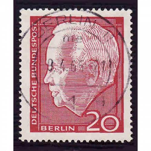 Germany Used Scott #9N211 Catalog Value $.25