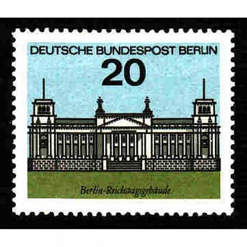German MNH Scott #9N213 Catalog Value $.50