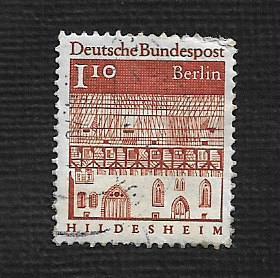 Germany Used Scott #9N248 Catalog Value $1.40