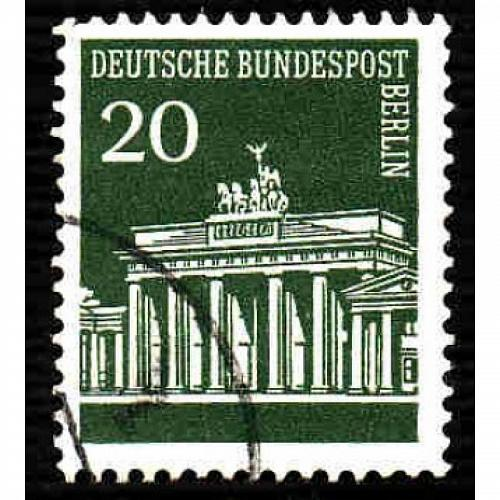 Germany Used Scott #9N252 Catalog Value $.25