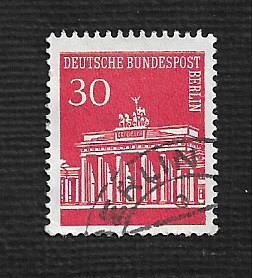 Germany Used Scott #9N253 Catalog Value $.25