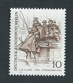 German MNH Scott #9N269 Catalog Value $.25