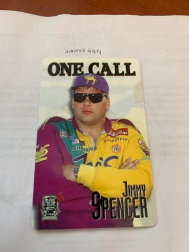 Jimmy Spencer racing card 1998