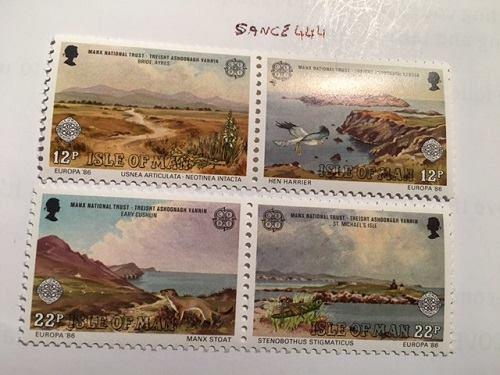 Isle of Man Europa 1986 mnh stamps