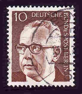 Germany Used Scott #9N286 Catalog Value $.25