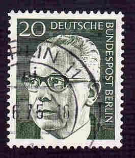 Germany Used Scott #9N287 Catalog Value $.25