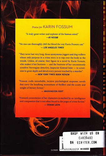 Inspector Sejer Mysteries - Hell Fire 12 by Karin Fossum 2016, Hardcover Book - Very
