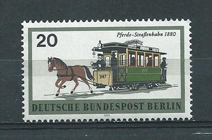 Germany Berlin Hinged NG Scott #9N307 Catalog Value $.25