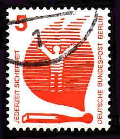 Germany Used Scott #9N316 Catalog Value $.30