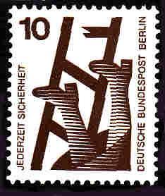 German MNH Scott #9N317 Catalog Value $.25