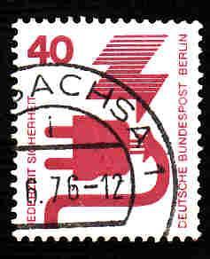 Germany Used Scott #9N321 Catalog Value $.40