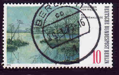 Germany Used Scott #9N328 Catalog Value $.25
